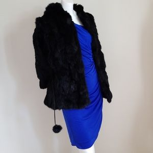 NWT! Wilson Leather Fur Rabbit Jacket/ Coat - XL